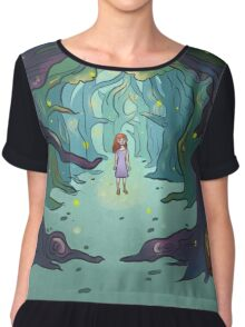 Firefly forest Chiffon Top