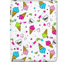 victory sign love heart design iPad Case/Skin