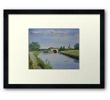 Sandy Bridge Framed Print