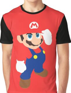 Mario in red Graphic T-Shirt