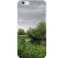 Cambridgeshire River Landscape iPhone Case/Skin
