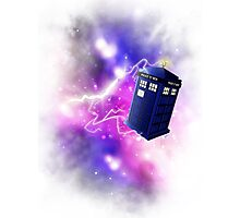 Tardis shirt Photographic Print