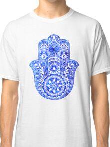 Blues Hamsa Hand Classic T-Shirt