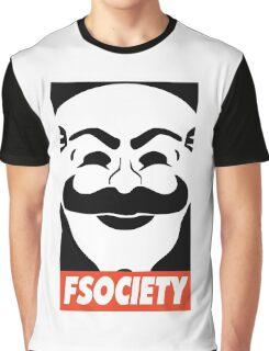 MR ROBOT New Merchandise Graphic T-Shirt
