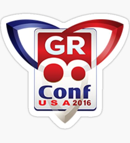 GR8Conf US 2016  Sticker