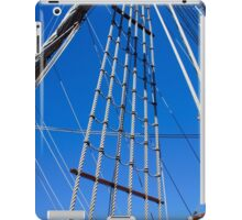 Tall ship ropes iPad Case/Skin
