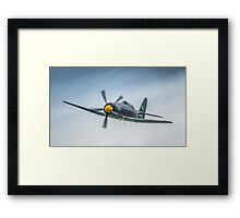 Two Seat Sea Fury 2014 Framed Print