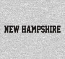 New Hampshire Jersey Black by USAswagg2