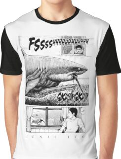 Shark - Junji Ito Graphic T-Shirt