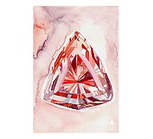 Imperial Topaz Watercolor Illustration Photographic Print