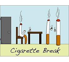 Cigarette Break Photographic Print