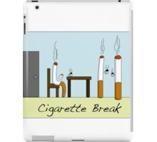 Cigarette Break iPad Case/Skin