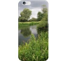 Cambridgeshire River Landscape 2 iPhone Case/Skin