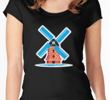 Dutch Windmill Women's Fitted Scoop T-Shirt
