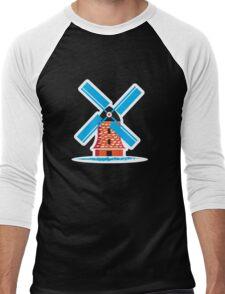 Dutch Windmill Men's Baseball ¾ T-Shirt