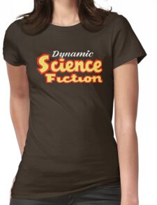 Dynamic Science Fiction vintage Womens Fitted T-Shirt