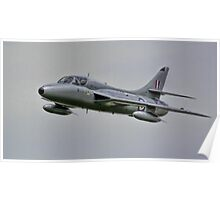 Two Seat Hawker Hunter 2014 Poster