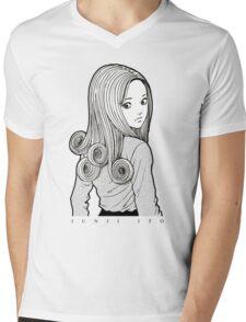 Uzumaki Kirie Goshima - Junji Ito Mens V-Neck T-Shirt