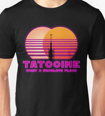 Tatooine 80's Retro Sign Unisex T-Shirt