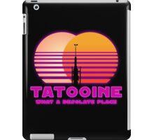 Tatooine 80's Retro Sign iPad Case/Skin