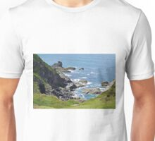 Hells Mouth in Cornwall Unisex T-Shirt