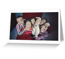 McBusted Greeting Card
