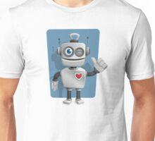 Cute Cartoon Robot Unisex T-Shirt