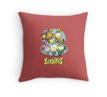 snorks Throw Pillow