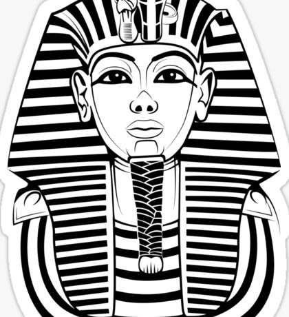 Tutankhamen Sticker