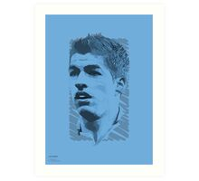 World Cup Edition - Luis Suarez / Uruguay Art Print