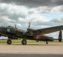 "Avro Lancaster B.X FM213/C-GVRA ""Vera"" taxying by Colin Smedley"