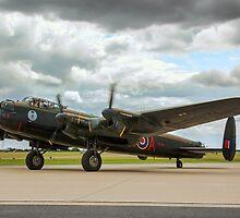 "Avro Lancaster B.X FM213/C-GVRA ""Vera"" taxying by Colin Smedley"