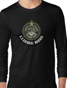 Aliens US Colonial Marines patch Long Sleeve T-Shirt