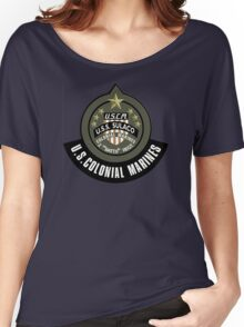 Aliens US Colonial Marines patch Women's Relaxed Fit T-Shirt