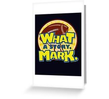What a Story Mark - The Room Greeting Card