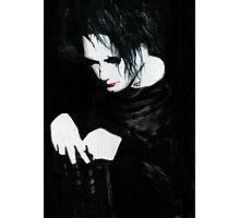 Mouth And Eyes And Heart All Bleed Photographic Print