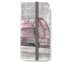 Vintage Red Train iPhone Wallet/Case/Skin