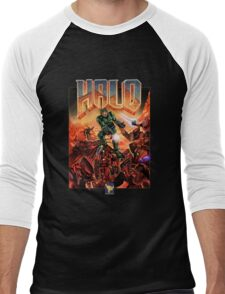 Halo-Doom Men's Baseball ¾ T-Shirt