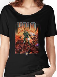 Halo-Doom Women's Relaxed Fit T-Shirt
