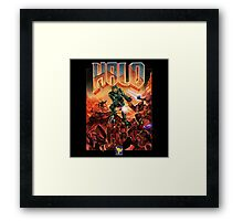 Halo-Doom Framed Print