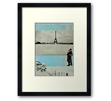 ONE DAY OUT Framed Print