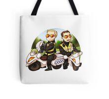 Motor cops Tote Bag