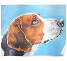 American Foxhound Fine Art Painting Poster