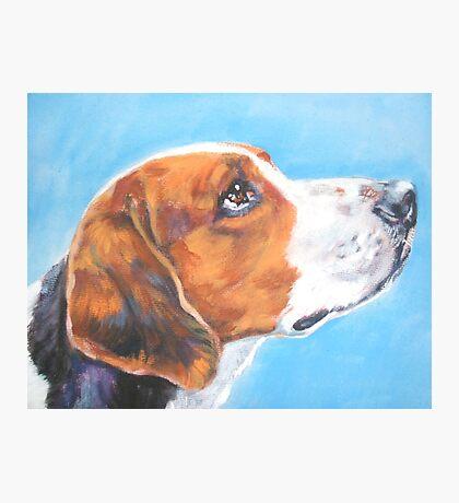 American Foxhound Fine Art Painting Photographic Print