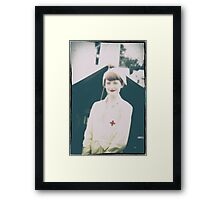 The Beauty of the Red Cross Framed Print