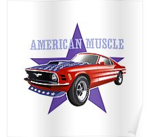 American Muscle. Poster