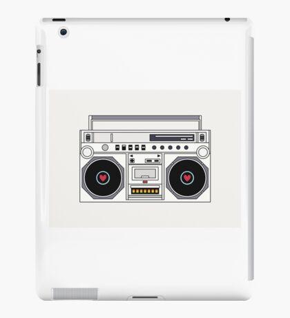 Retro Boom Box iPad Case/Skin
