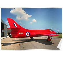 Hawker Hunter F.3 WB188 Poster