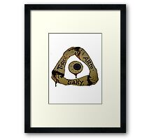 Three Arm Sally  Framed Print