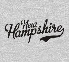 New Hampshire Script Black by USAswagg2